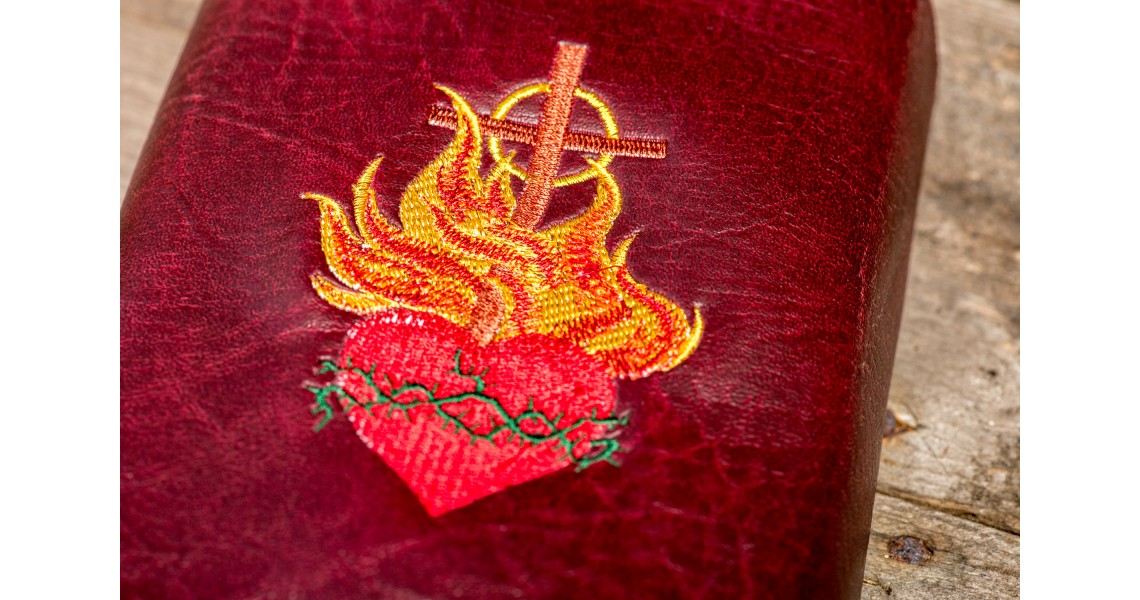 Embroidered Zipped Cover
