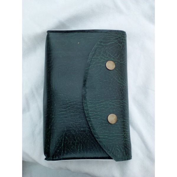 Leatherette missal/book pouch