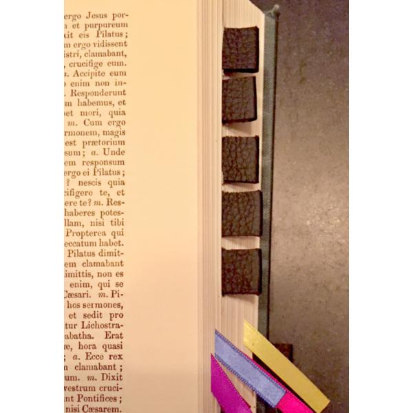 Altar Missal Leather Tabs