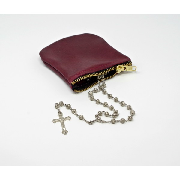 Zipped Rosary Pouch- Various sizes